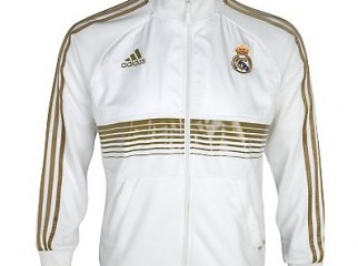 Adidas Real Madrid Track Jacket For Sale Size L