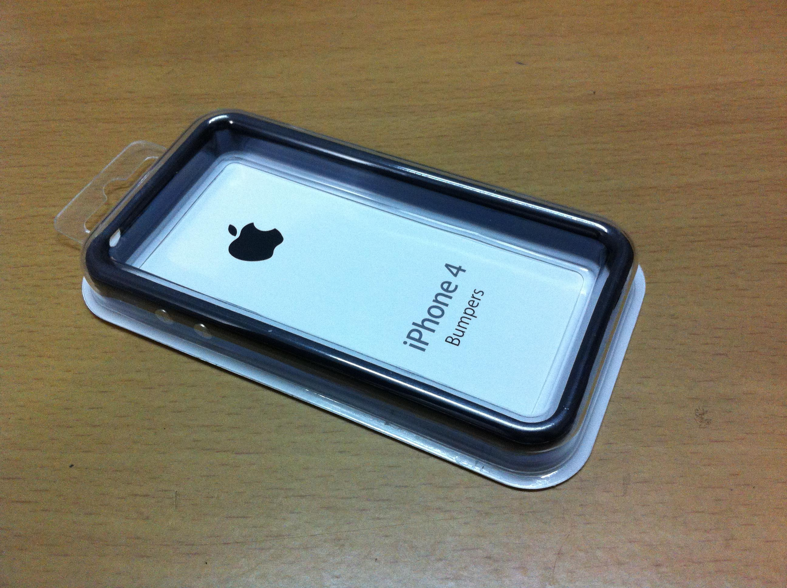 quality design 6ead1 cbfc2 Original Genuine Apple Bumper case for iPhone 4S 4 from UK | ClickBD
