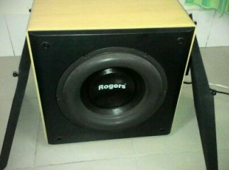 Rogers 10 inch dual british active subwoofer