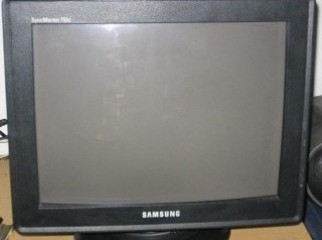 GENUINE SAMSUNG SYNCMASTER 15 17 CRT BLACK MONITOR IN EX