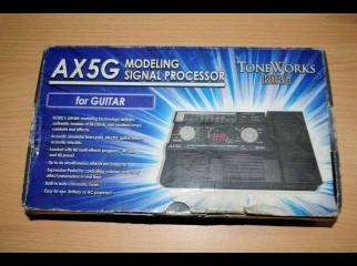 Korg AX5G Guitar Processor