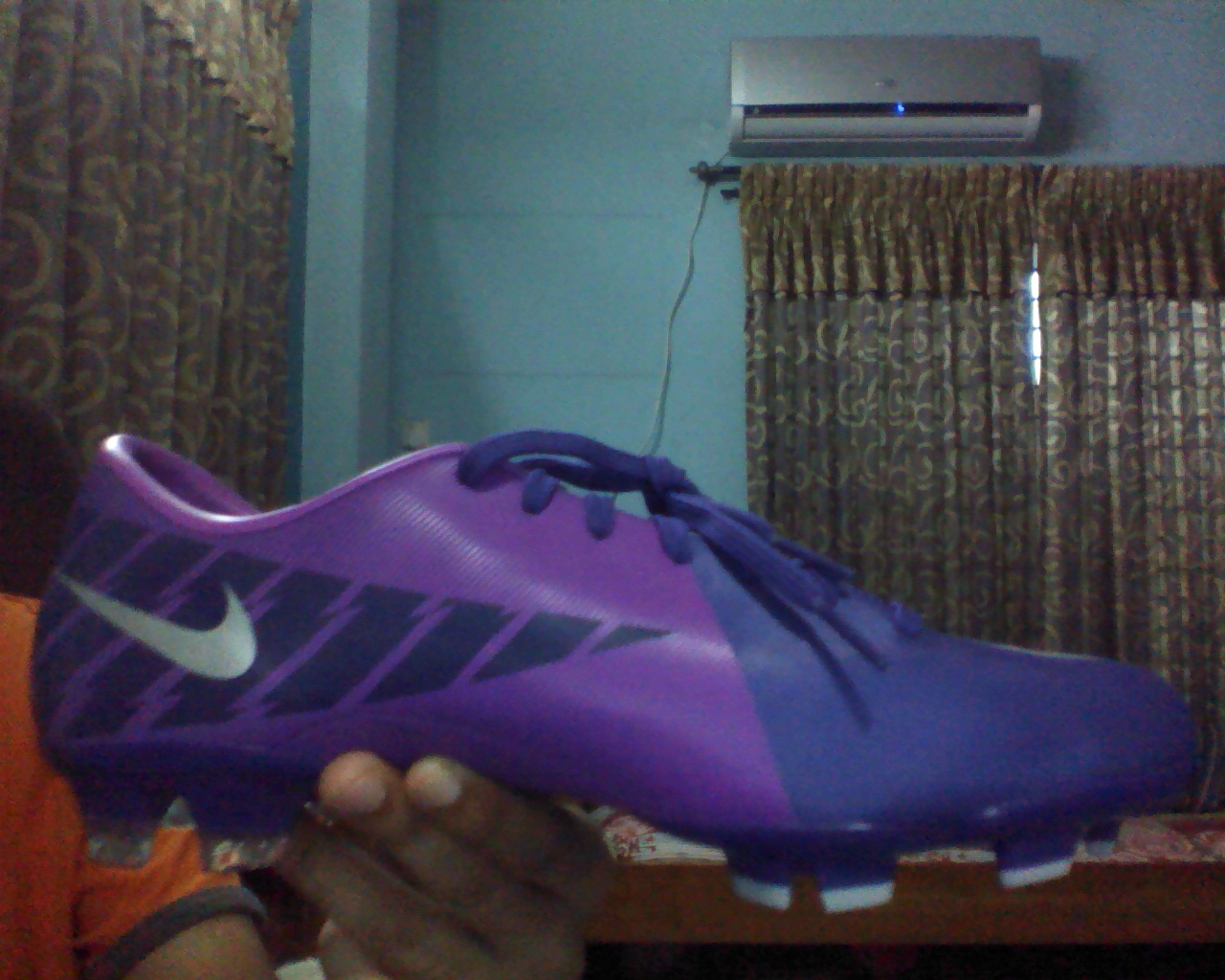 low priced 64910 524ae NIKE MERCURIAL VICTORY 2 FG BOOTS US-8 call ...