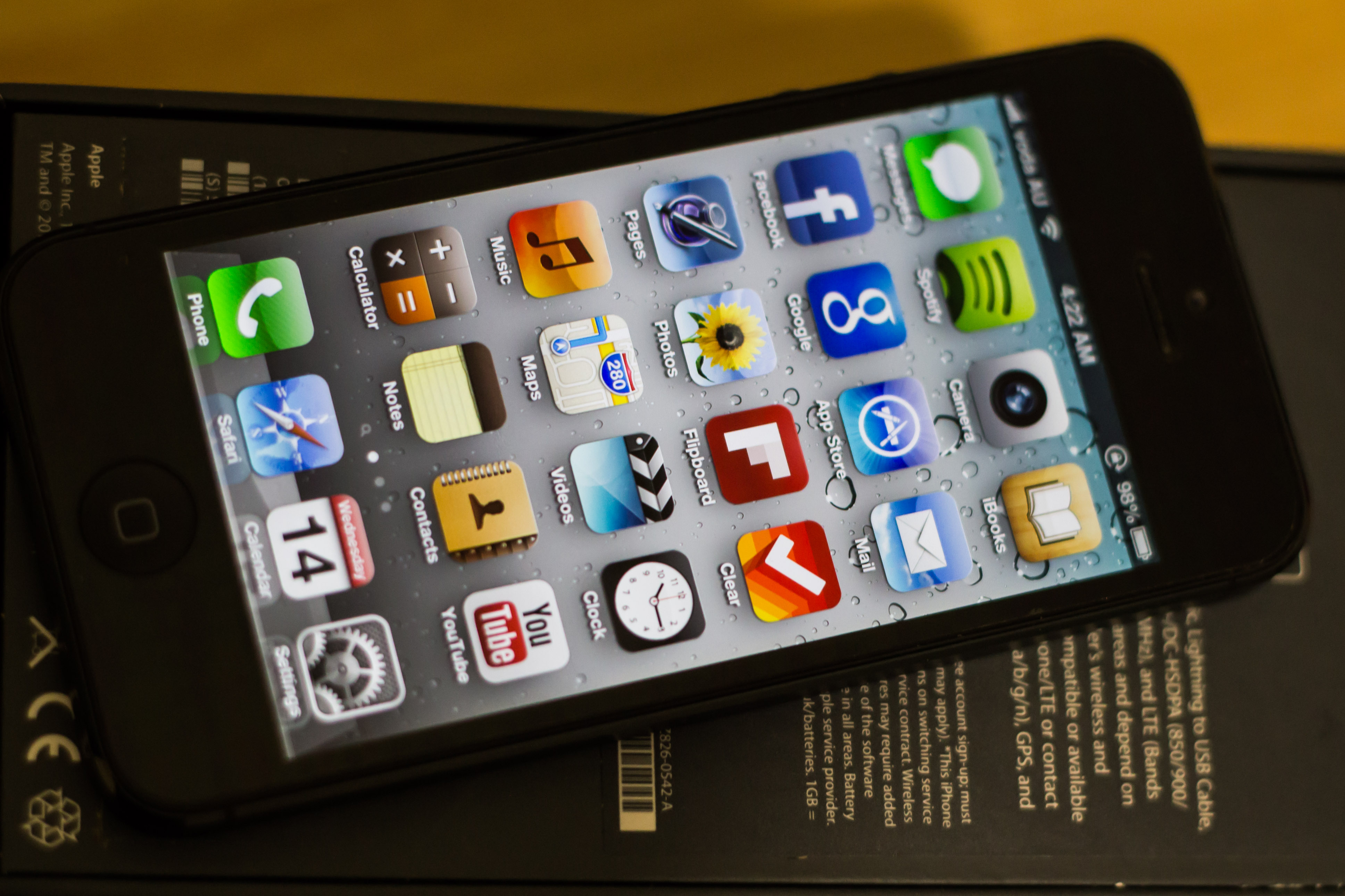 iPhone 5 64gb Factory Unlocked Call or Txt 01751939137 | ClickBD large image 0