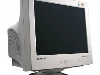 Samsung CRT 14 inch monitor white