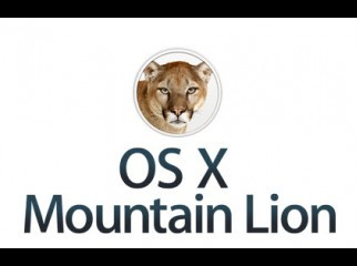 Genuine MAC OS X 10.8 Mountain Lion untouched in DVD-9