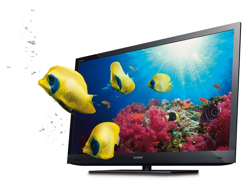 Sony Bravia Ex720 46 Inch 3d Led Tv With 1 Pair 3d Glass Clickbd