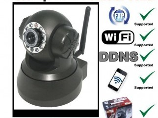 IP Camera for all time noise free security system