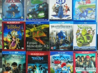 Original 3D Blu Ray Movies for Rent