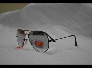 Ray Ban 3026 Black Frame Silver Half Shed Glass