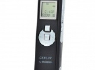 Cenlux C52 LCD Digital Voice Recorder w MP3 Player 4GB