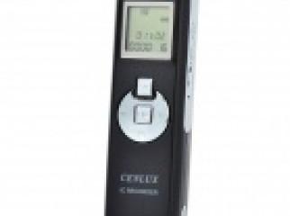 Cenlux C52 LCD Digital Voice Recorder w MP3 Player 4GB