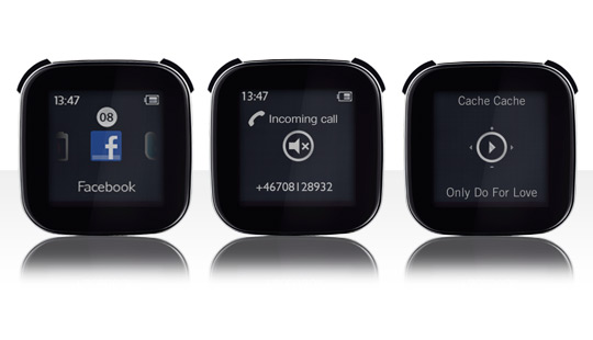 Sony Ericsson LiveView MN800 Android Bluetooth Smart Watch | ClickBD large image 0