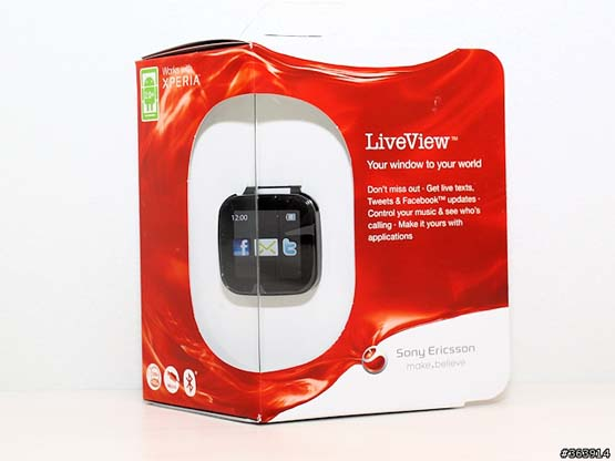 Sony Ericsson LiveView MN800 Android Bluetooth Smart Watch | ClickBD large image 1