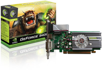 GRAPHICS CARD- NVIDIA GEFORCE 8400 GS-512 MB | ClickBD large image 0