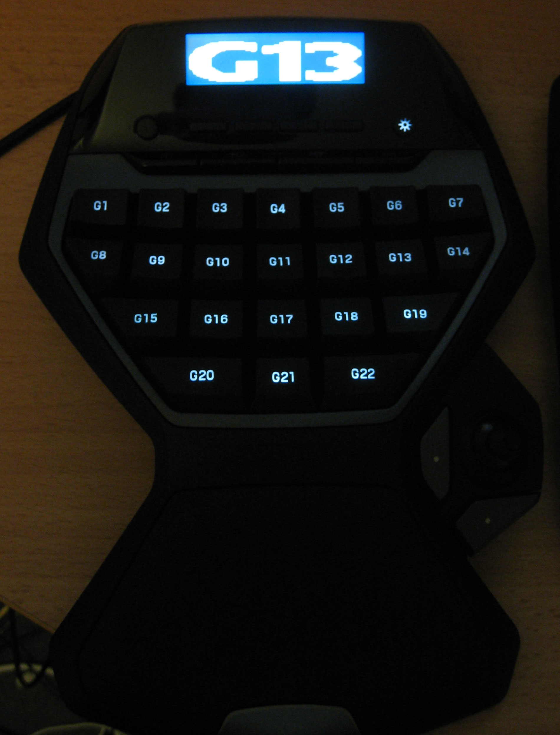 Logitech G13 Advanced Gameboard | ClickBD large image 3