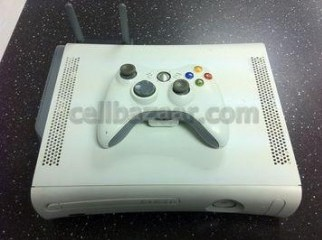 xbox360 with latest lt3 mod and 25 games DVD for sale