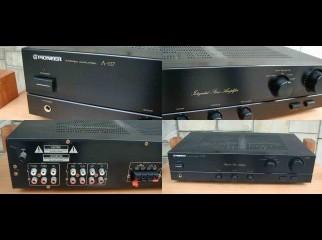 Pioneer sterio Intrgrated Amplifier black Color Vintage