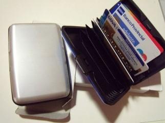 ALUMA wallet as u seen on tv