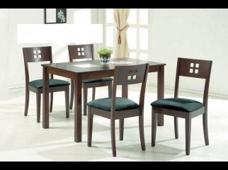 5pc Casual Dining Table Chairs Set