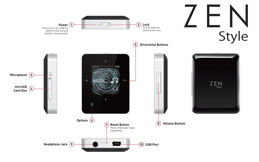 creative zen m100 4gb clickbd rh clickbd com zen mozaic mp3 player manual zen mp3 player manual