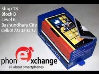 NOKIA LUMIA 920 BRAND NEW NOW ON PHONE EXCHANGE IN B CITY