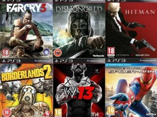 New Sealed PS3 Games for 3500tk Order from UK USA