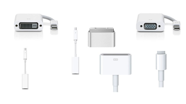 all apple lightning cables and adapters j26