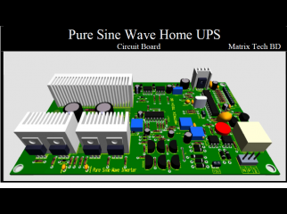 PURE SINE WAVE HOME UPS