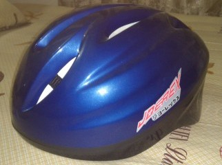 Cycling helmet only one day used market price 1000