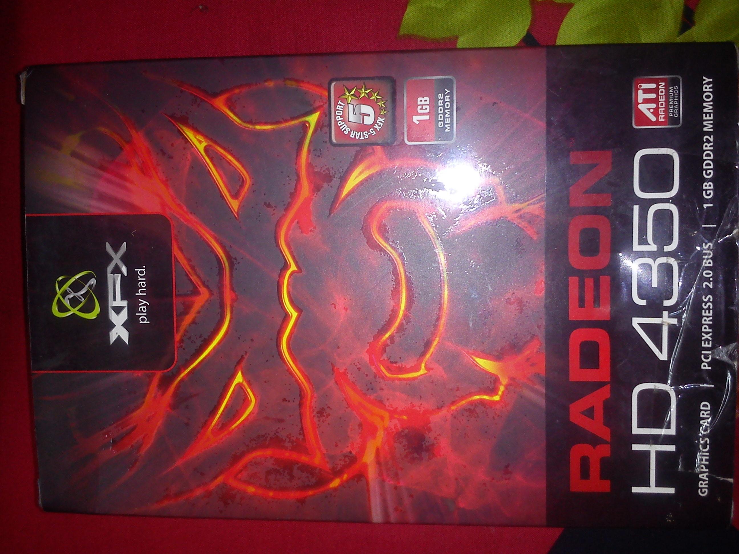 ATI RADEON HD 4350 1GB DDR2 GRAPHICS CARD | ClickBD
