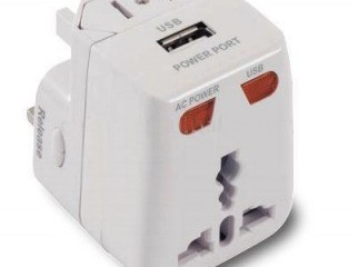 World Travel Power Plug Adapter