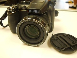 fujifilm semi DSLR unpacked