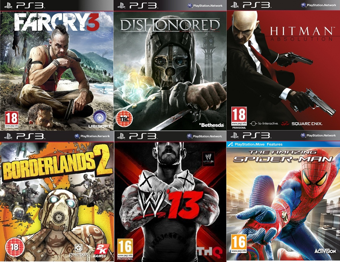 All New Games On Ps3 : All latest ps games on inc fc bo ac nfs mw