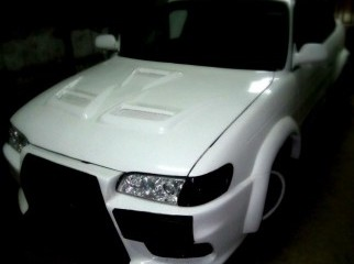 Evo X model bonnet for Toyoya 100