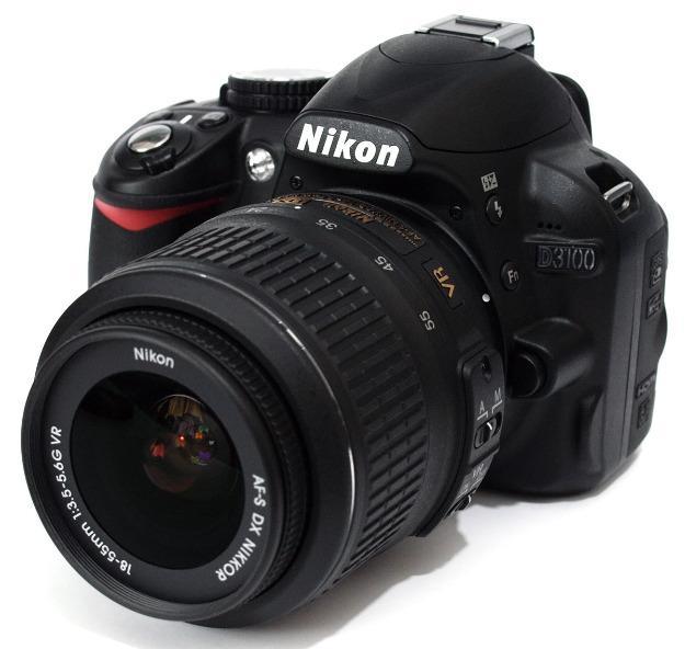 Nikon D3100 18 55mm 50mm 18G 4GB Memory Card