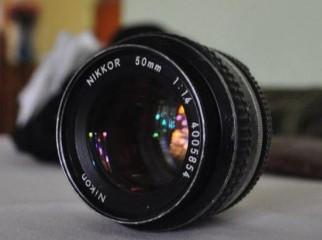 Nikon Nikkor 50mm f1.4 manual lens 10 000tk