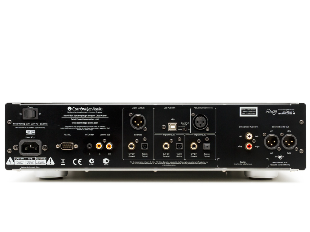 Cambridge Audio 851C Top of the line CD Player with DAC | ClickBD large image 1