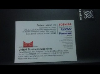 TOSHIBA All kind of photocopier machines fax shedders etc