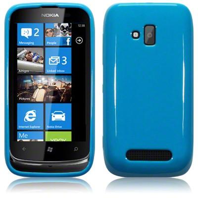Nokia Lumia 610 Blue | ClickBD large image 0