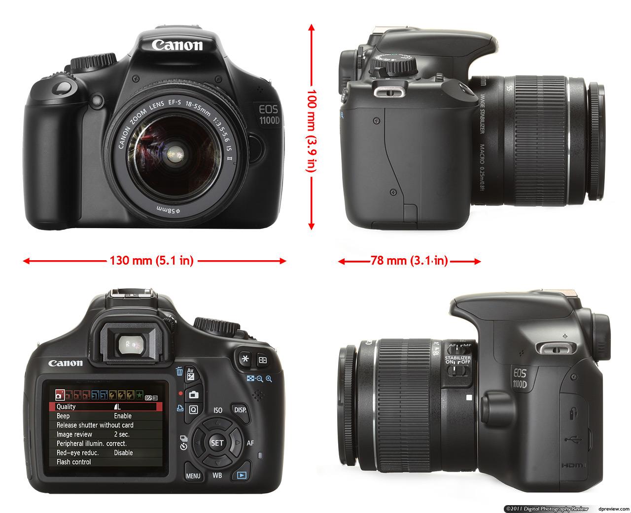 Camera Dslr Camera Canon 1100d canon 1100d brand new 01715914144 clickbd large image 0