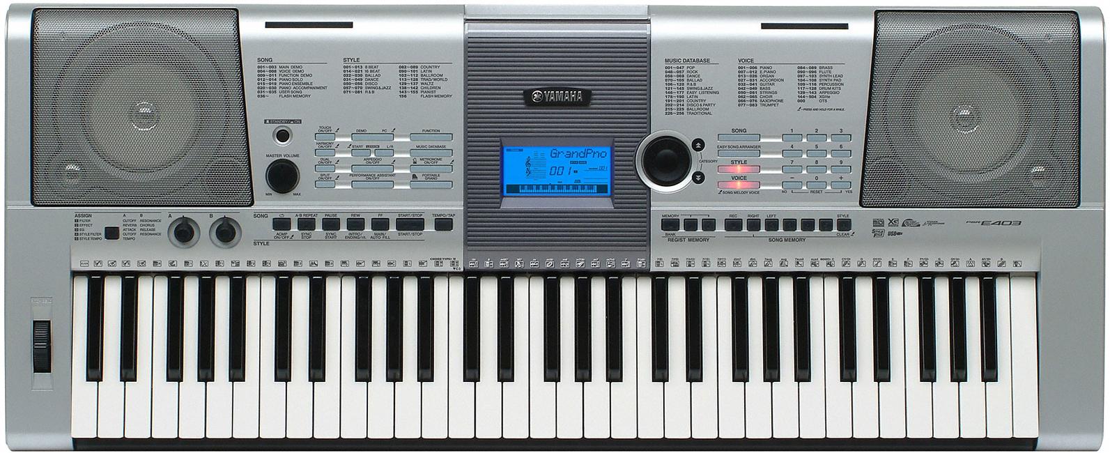 yamaha psr e403 electronic keyboard clickbd