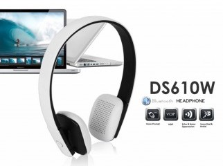 DS610W Bluetooth Headphones White