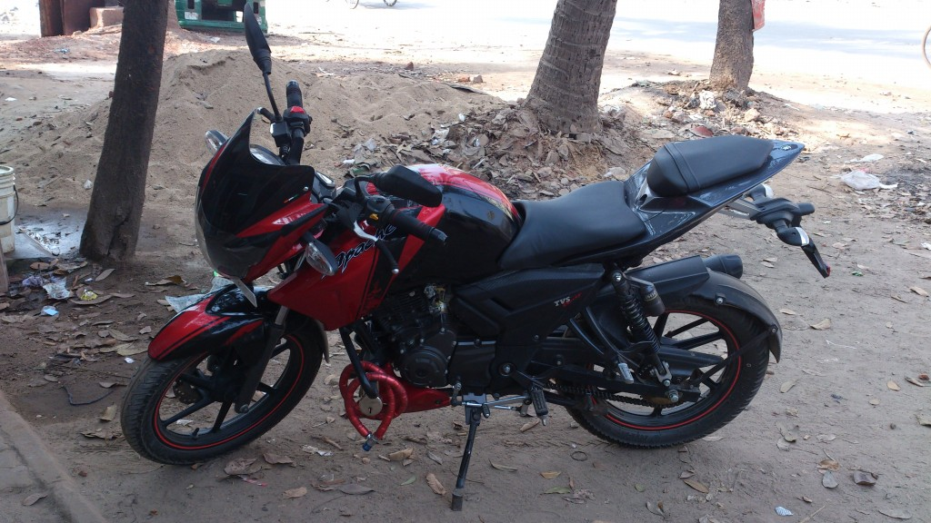 tvs apache 160 with abs clickbd