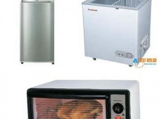 2 refrigerator 1 electric ovens