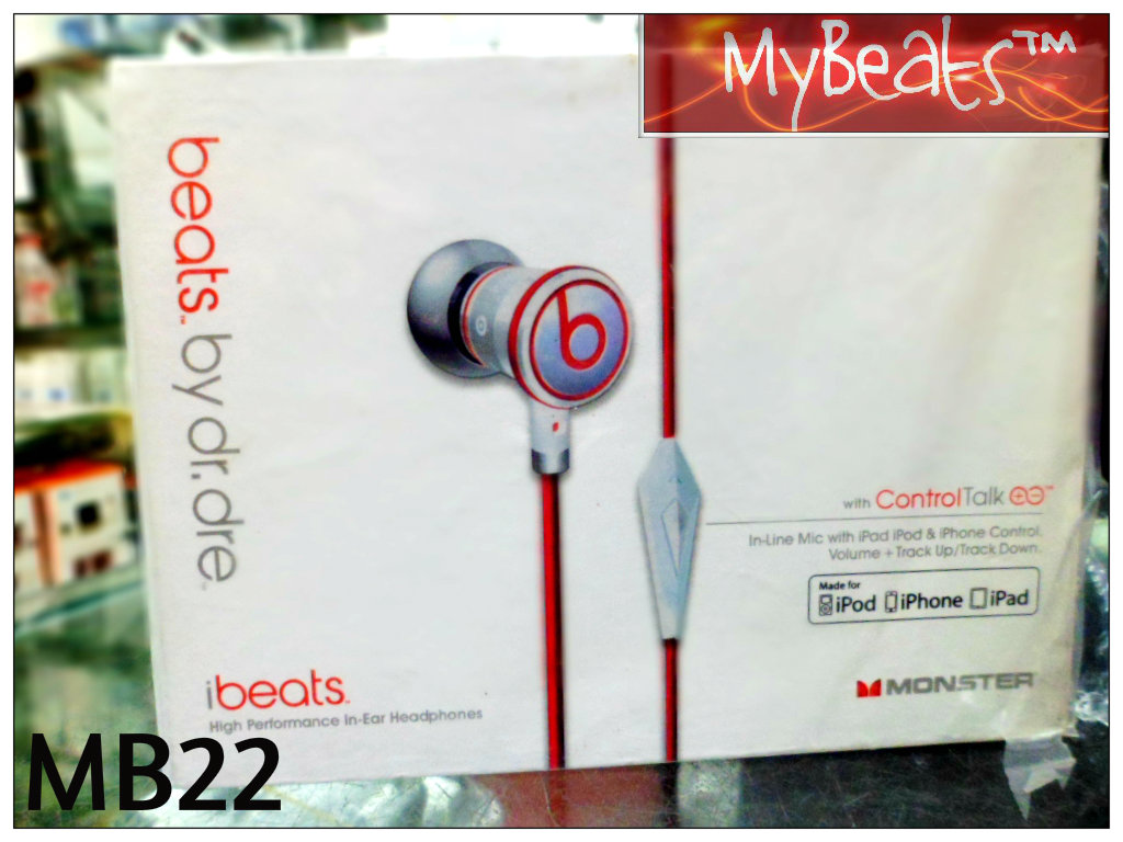 BEATS AUDIO IBEATS IPHONE EARPHONE FOR SALE | ClickBD large image 0