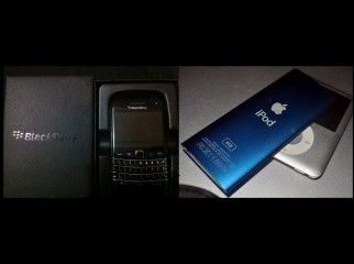 Blackberry Bold 9790 n ipod