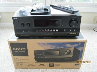 SONY STR HD AND 3D COMPATIBLE.