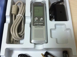 Digita MP3 Player Voice Recorder 1GB Charger New