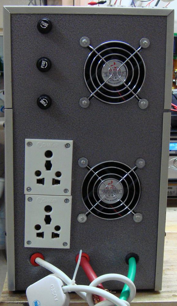 2KVA UPS mode IPS with 2 4 line LCD Display | ClickBD large image 2