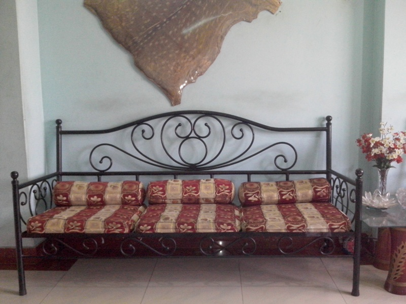 Wrought Iron Sofa Set Designs With